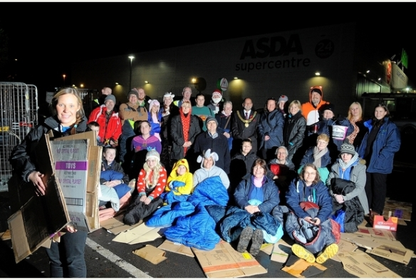 Sleepout Crowd